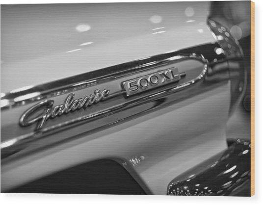 1964 Ford Galaxie 500 Xl Wood Print