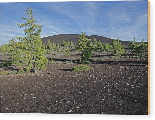 Craters Of The Moon Wood Print by Elijah Weber