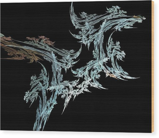 Foliage Wood Print by Michele Caporaso