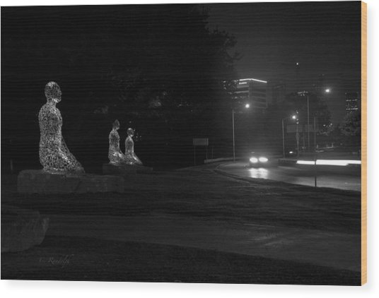 Night Watch Wood Print