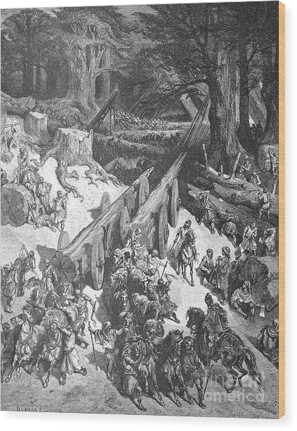Temple Of Solomon Wood Print