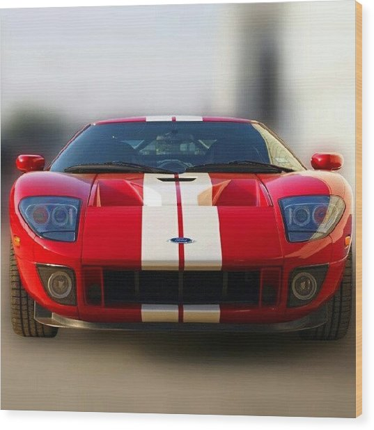2006 Ford Gt40 Wood Print