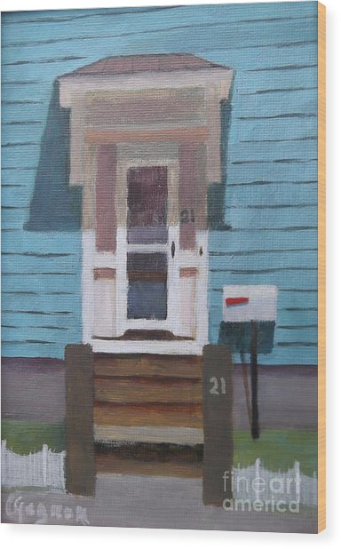 21 Wonson St Wood Print