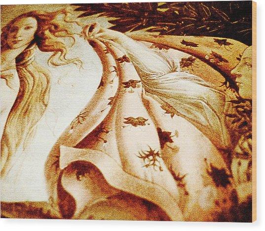 Close Wood Print by Beto Machado