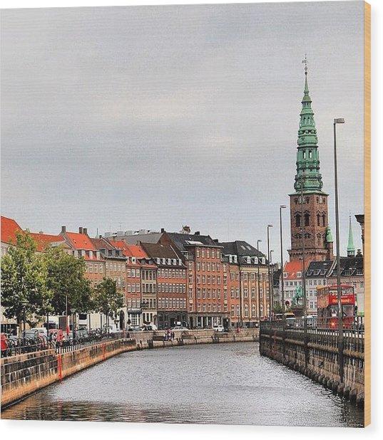 Copenhagen Wood Print