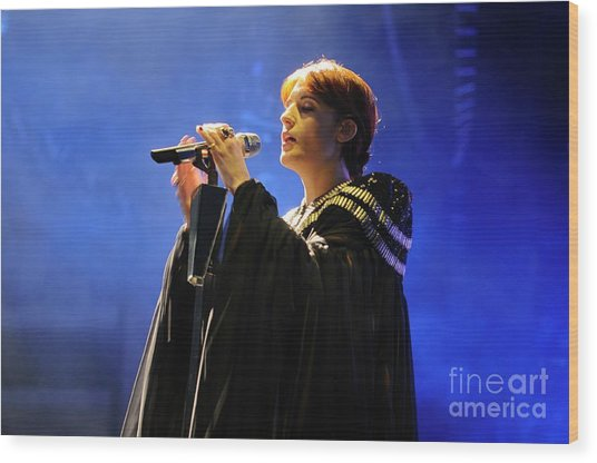 Florence And The Machine Wood Print