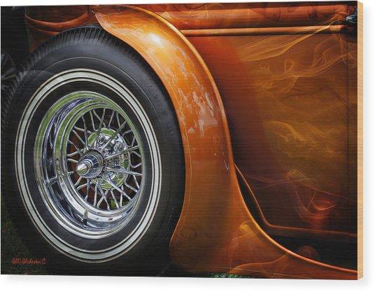 Hot Oldies Wood Print