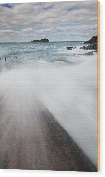 North Berwick Wood Print by Keith Thorburn LRPS AFIAP CPAGB