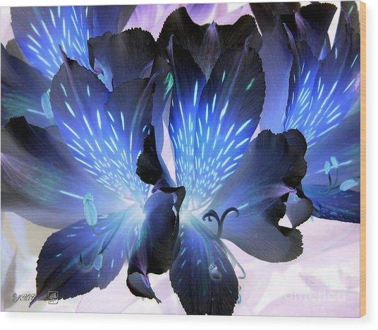 Princess Lily Named Marilene Staprilene Wood Print