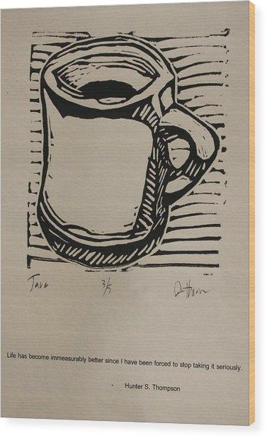 Java Wood Print