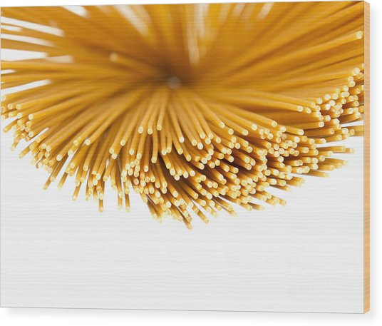 Pasta Wood Print by Blink Images