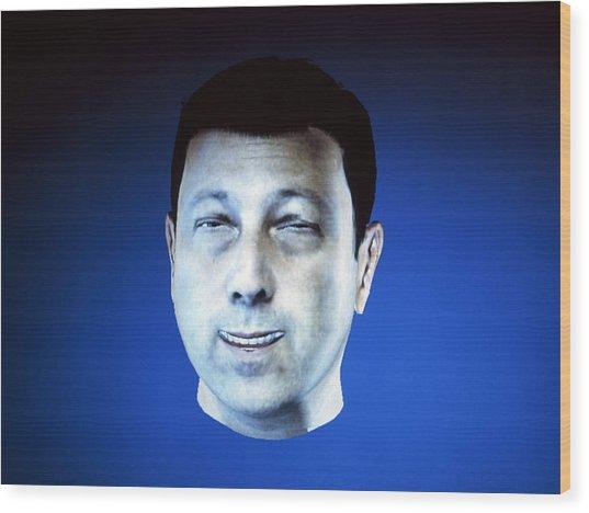Personalised Virtual Avatar Wood Print by Volker Steger