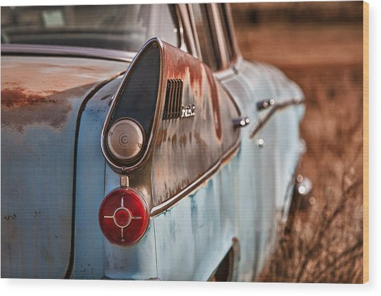 Studebaker President Wood Print by Richard Steinberger
