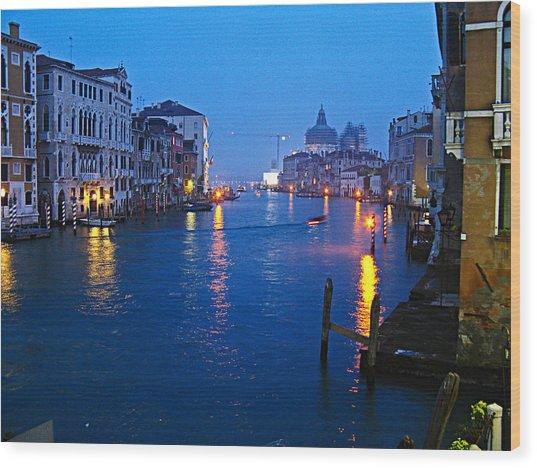 Venice Italy Fine Art Print Wood Print by Ian Stevenson