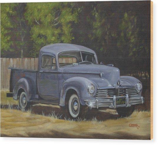 '47 Hudson Wood Print