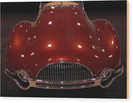 49 Buick Speedster Wood Print