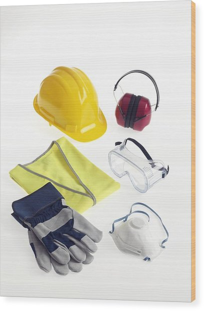 Construction Worker S Safety Equipment Photograph By Tek Image