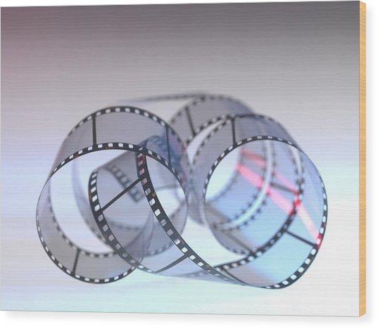 Photographic Film Wood Print by Tek Image