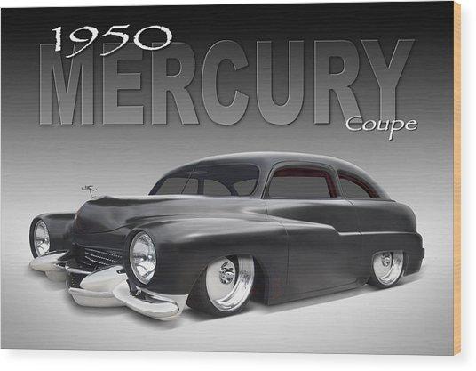 50 Mercury Coupe Wood Print