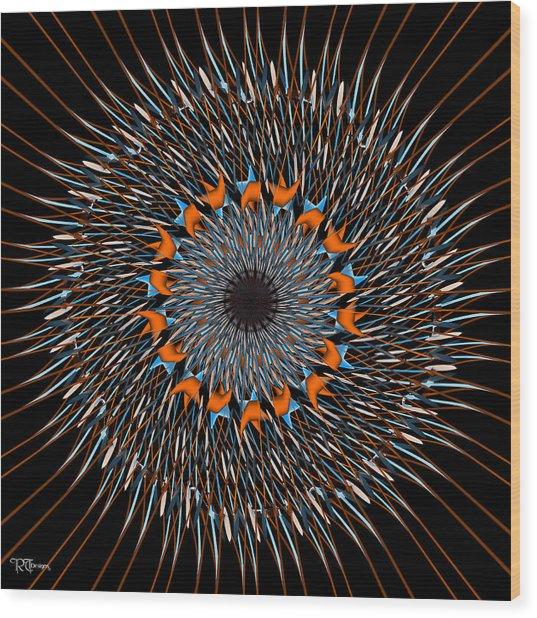 537 Wood Print