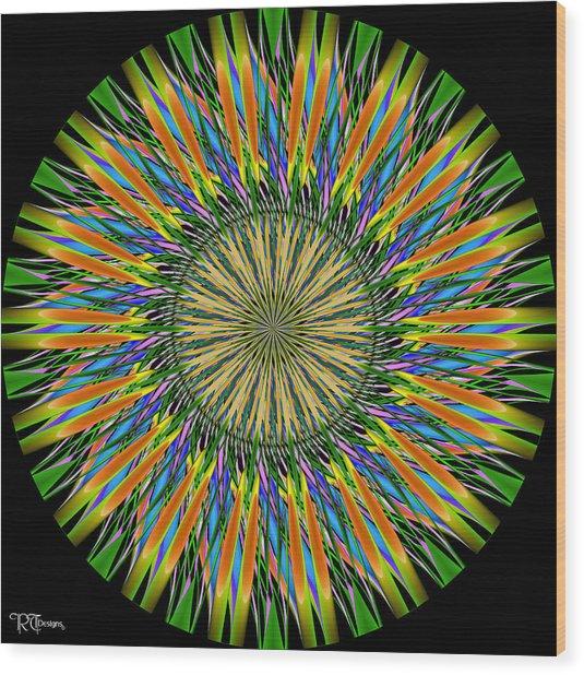 541 Wood Print