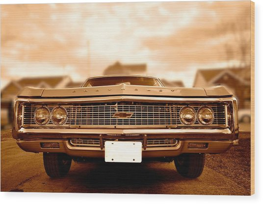 69 Impala Wood Print