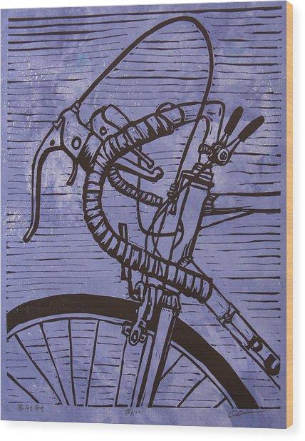 Bike 2 Wood Print
