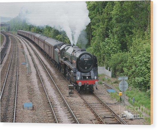 70013 Oliver Cromwell Wood Print