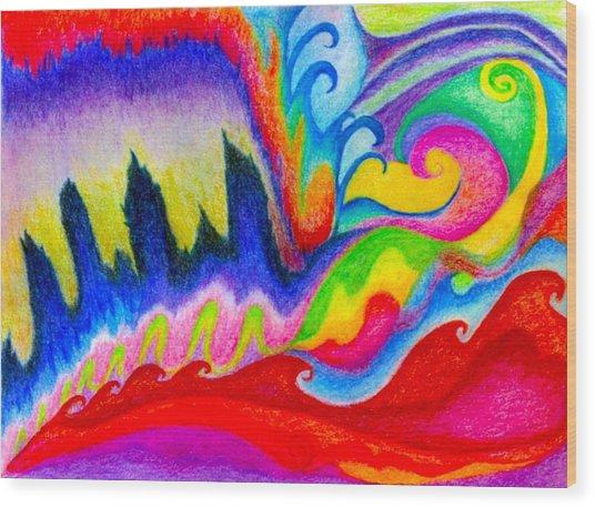 911 Nyc Wood Print by Linda Pope