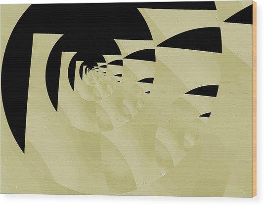 Decoupage Wood Print by Mihaela Stancu