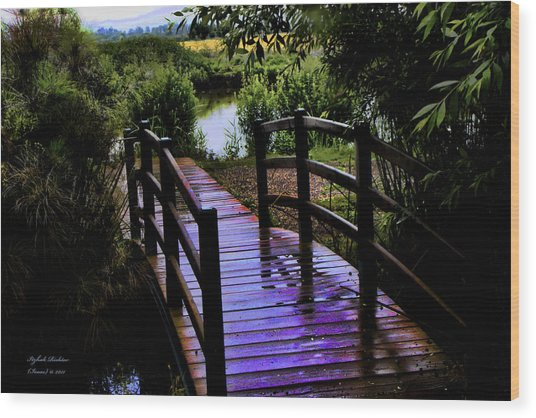 A Bridge Over Troubled Water Wood Print