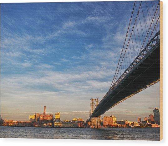 A Bridge To Williamsburg Wood Print