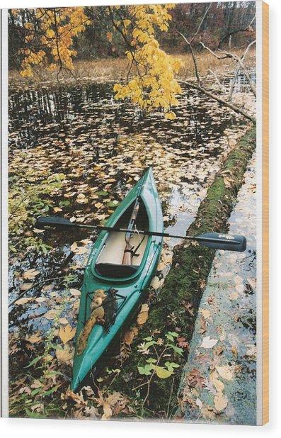 A Fall Harvest Wood Print