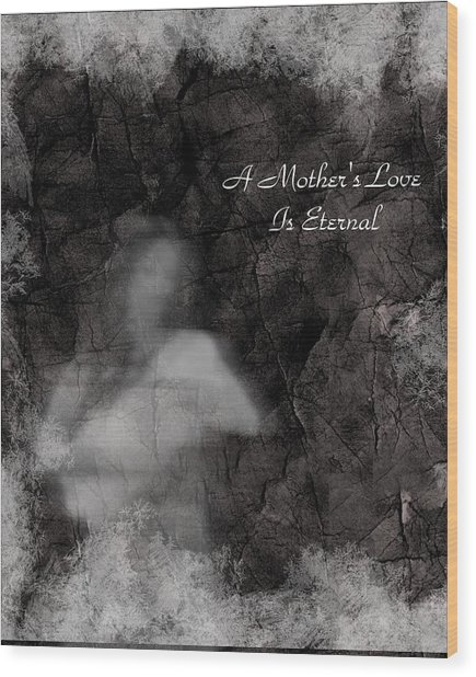 A Mother's Love Wood Print