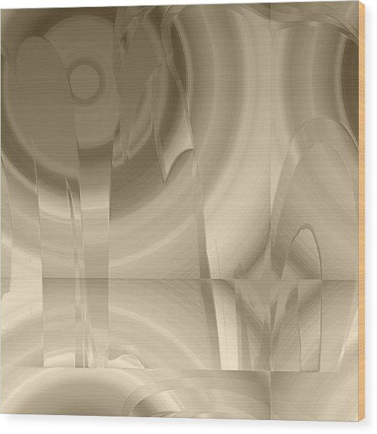 Abiss Wood Print