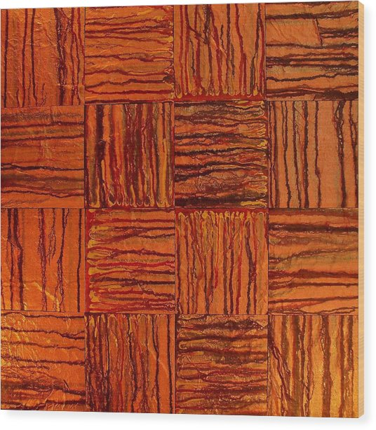 Abstract Flash 3.0 Wood Print