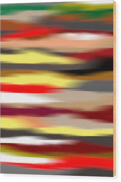 Abstract IIi Wood Print