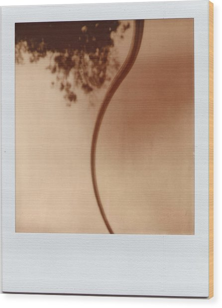 Abstract Instant 2 Wood Print