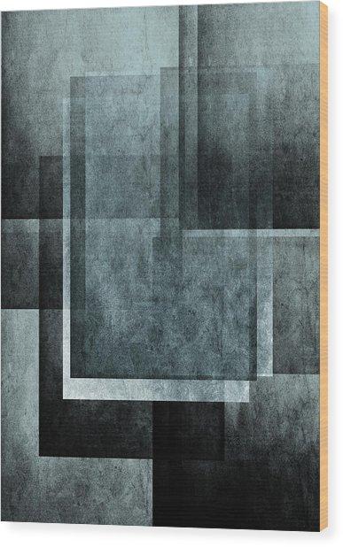 Abstraction 1 Wood Print by Maciej Kamuda