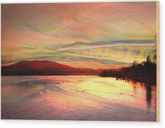Acrylic Sky Wood Print
