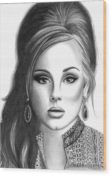 Adele Wood Print