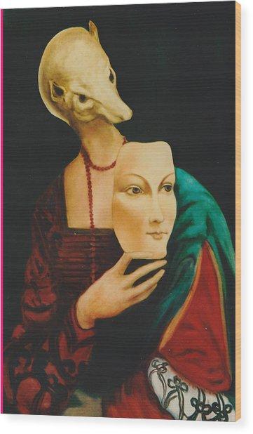 After Da Vinci Wood Print