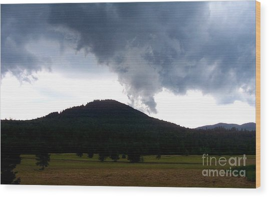 After The Storm 3 Wood Print by Peggy Miller