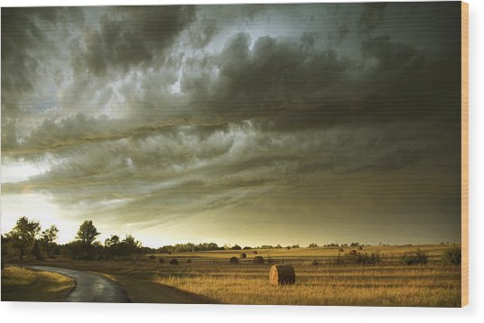 After The Storm Wood Print by Andrew Dyer Photography