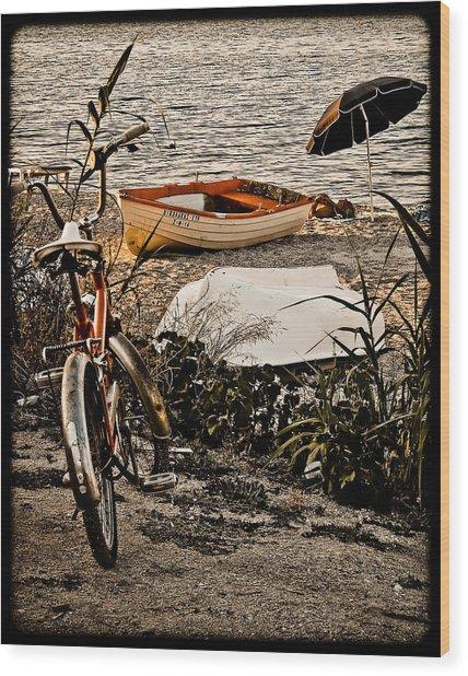Hanioti, Greece - Afternoon At The Beach Wood Print