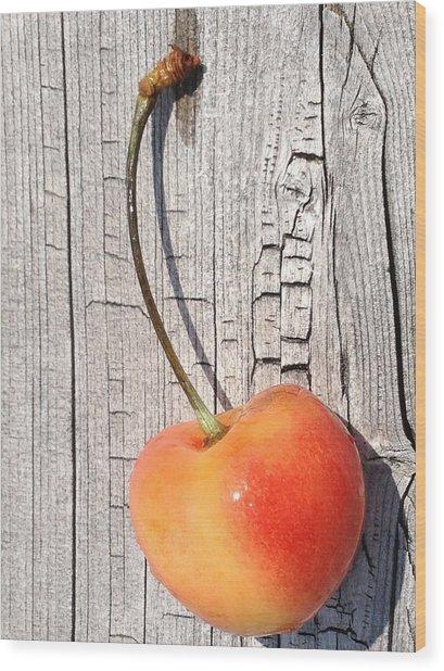 Age Before Beauty Wood Print