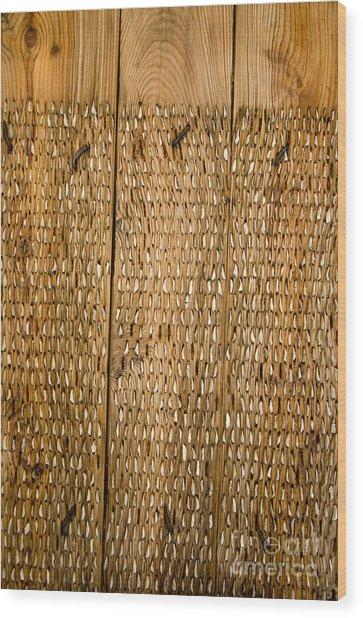 Agricultural Tool Of Spain Wood Print by Perry Van Munster