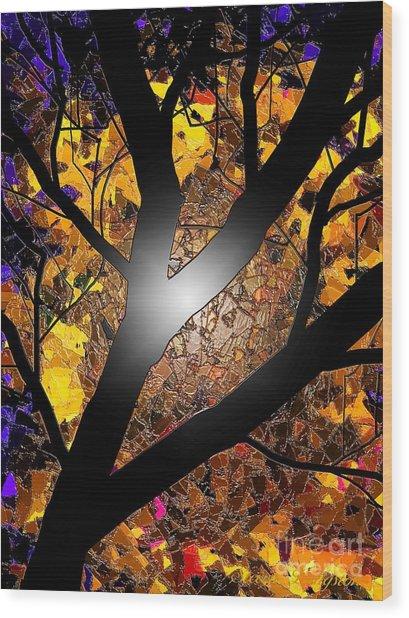 Ahh Wax Wood Print