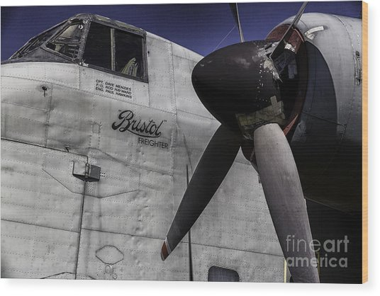 Air Show 12 Wood Print by Darcy Evans