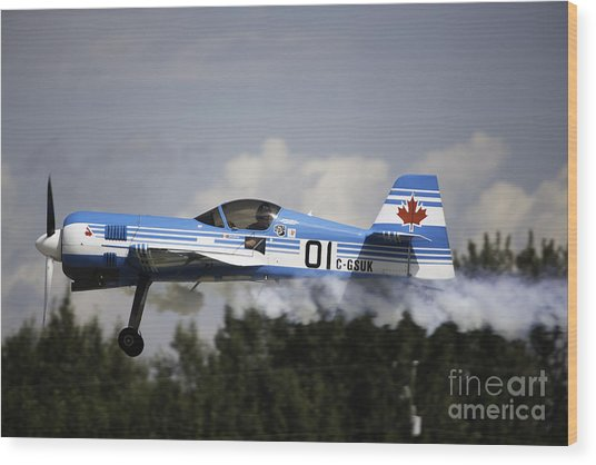 Air Show 14 Wood Print by Darcy Evans